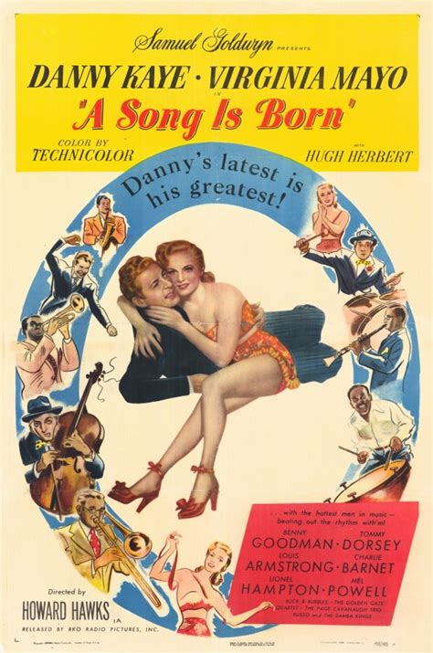 A Song Is Born Movie Posters From Movie Poster Shop