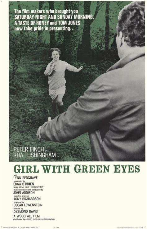Girl with Green Eyes Movie Posters From Movie Poster Shop
