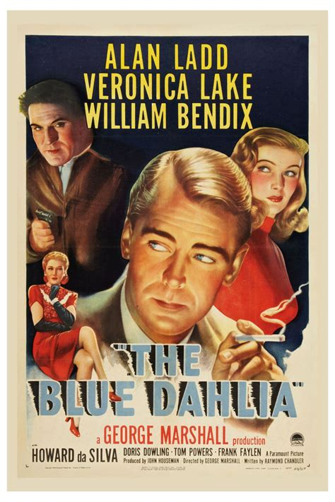 Film Noir: * The Blue Dahlia * Alan Ladd & Veronica Lake ...