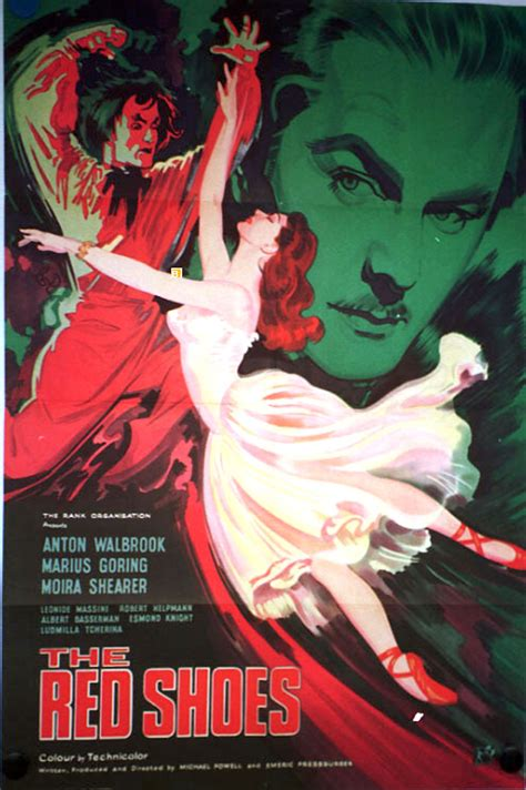 The Red Shoes ***** (1948, Anton Walbrook, Marius Goring ...