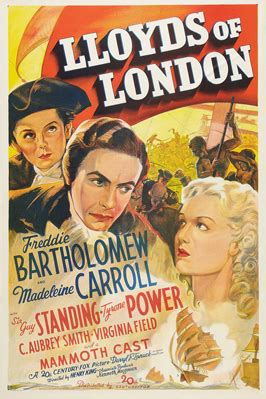 Lloyds of London Movie Posters From Movie Poster Shop