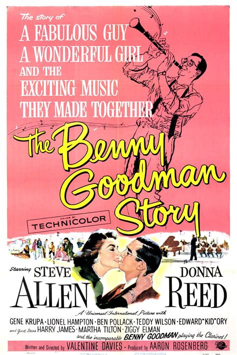 The Benny Goodman Story (1956) - Posters — The Movie ...