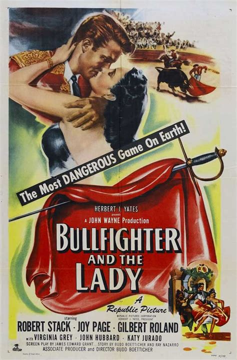 FilmFanatic.org » Bullfighter and the Lady, The (1951)