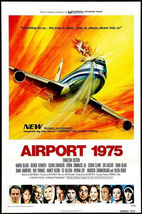 Airport 1975 Movie Posters From Movie Poster Shop