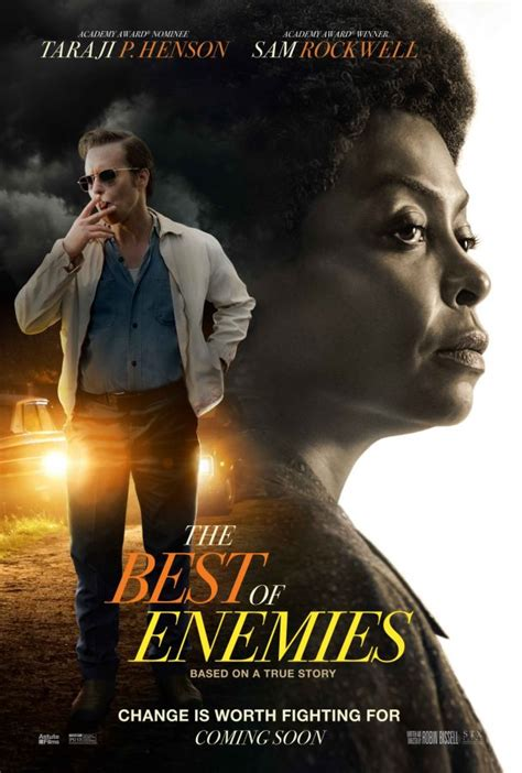 The Best of Enemies starring Sam Rockwell, Release Date 4/5/19
