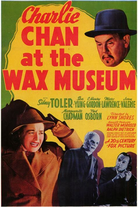 Charlie Chan at the Wax Museum Movie Posters From Movie ...