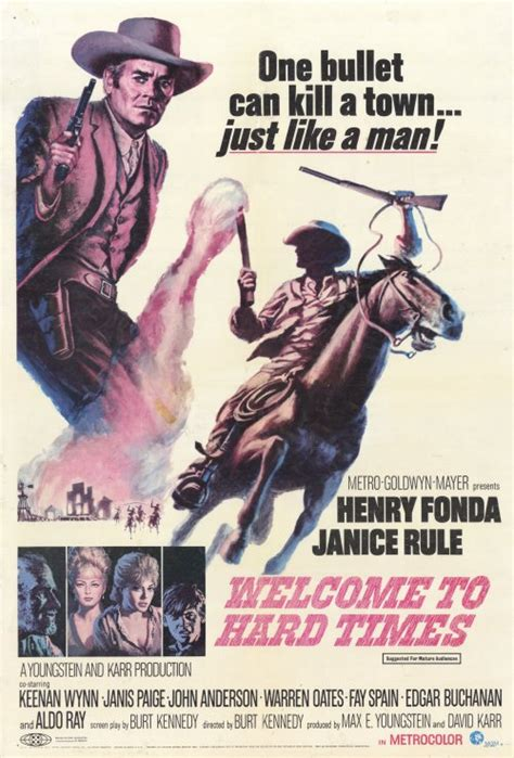 Welcome to Hard Times Movie Posters From Movie Poster Shop
