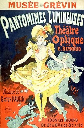 Pauvre Pierrot (Poor Peter) (1892) Theatrical Cartoon