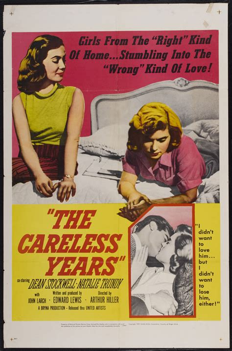 The Careless Years Movie Posters From Movie Poster Shop
