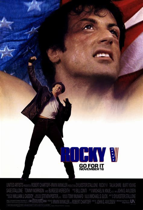 Rocky 5 Movie Posters From Movie Poster Shop