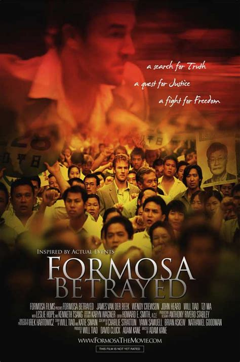 Formosa Betrayed Movie Posters From Movie Poster Shop