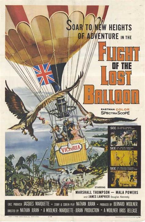 Flight of the Lost Balloon Movie Posters From Movie Poster ...