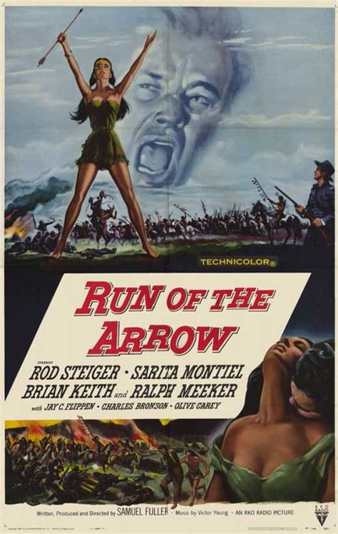 Run of the Arrow Movie Posters From Movie Poster Shop
