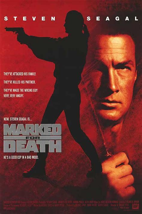 Marked for Death movie posters at movie poster warehouse ...