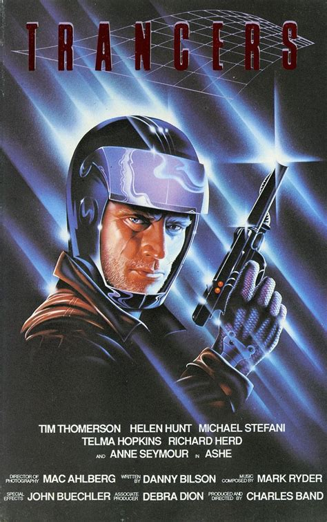 "VHS cover: ""Trancers"" (1984) 