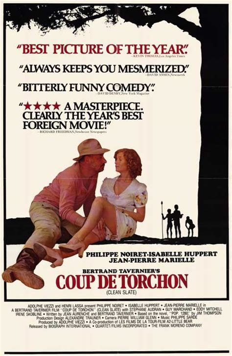 Coup de Torchon Movie Posters From Movie Poster Shop