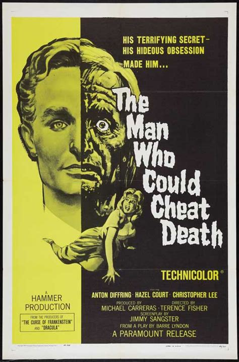 The Man Who Could Cheat Death Movie Posters From Movie ...