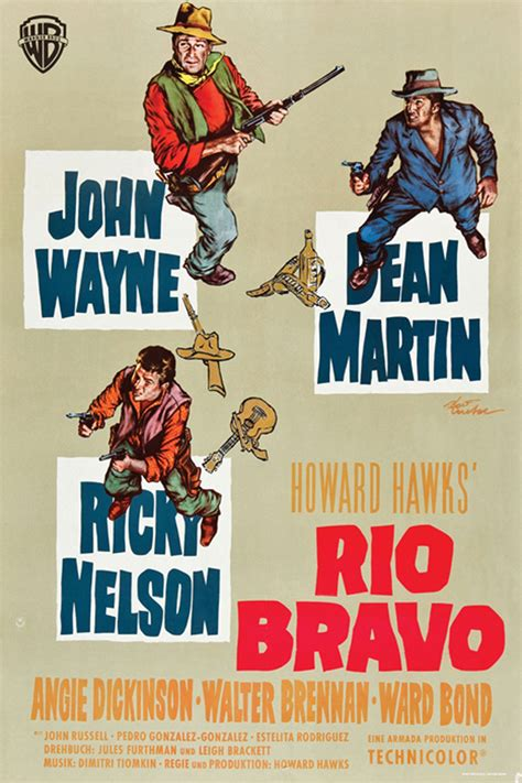 Rio Bravo movie posters at movie poster warehouse ...