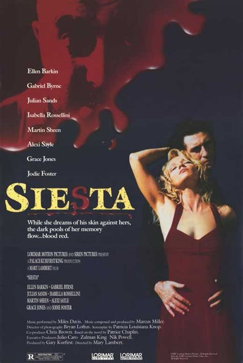 Siesta Movie Posters From Movie Poster Shop