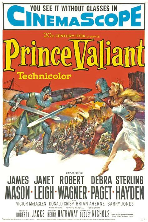 Prince Valiant Movie Posters From Movie Poster Shop