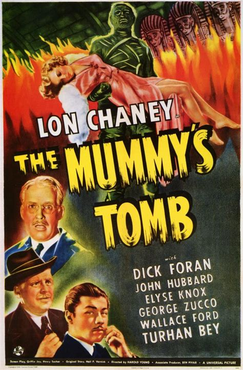 The Mummy's Tomb Movie Posters From Movie Poster Shop