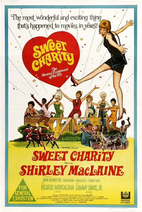 MOVIE POSTERS: SWEET CHARITY (1969)