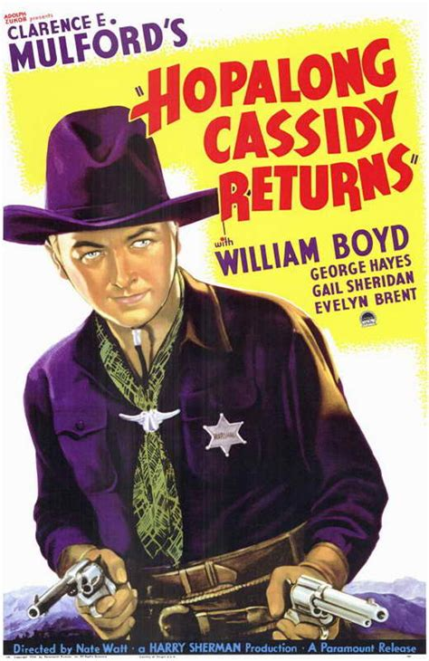 Hopalong Cassidy Returns Movie Posters From Movie Poster Shop