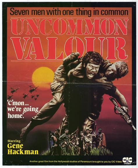 Uncommon Valor Movie Posters From Movie Poster Shop