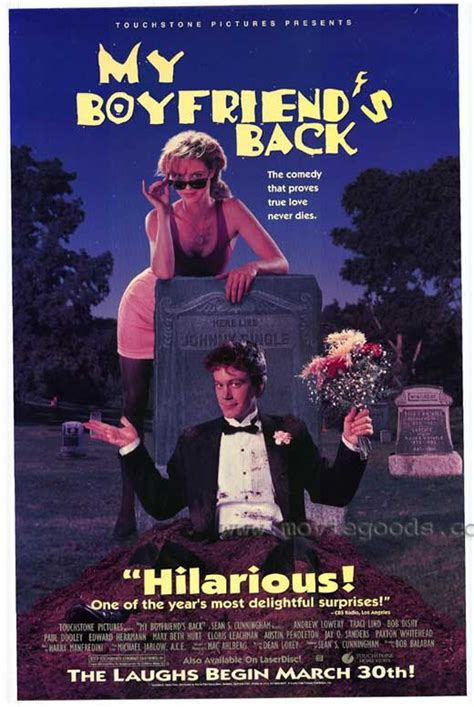 My Boyfriend's Back Movie Posters From Movie Poster Shop