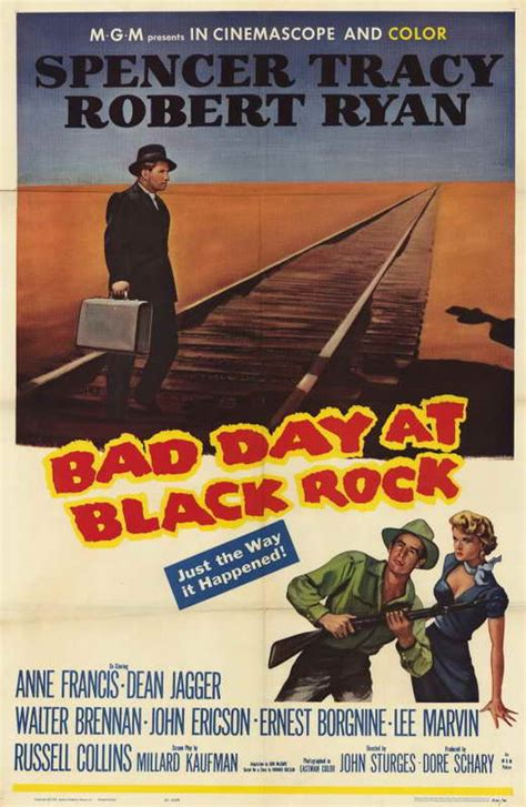 Bad Day at Black Rock Movie Posters From Movie Poster Shop