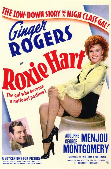 Roxie Hart Movie Posters From Movie Poster Shop