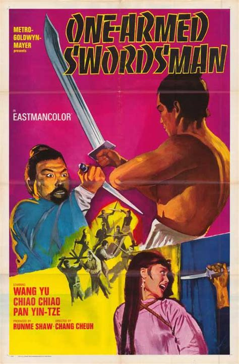 One Armed Swordsman Movie Posters From Movie Poster Shop