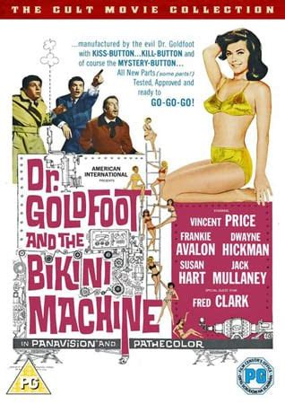 DR. GOLDFOOT AND THE BIKINI MACHINE [1965]: on Blu-ray and ...