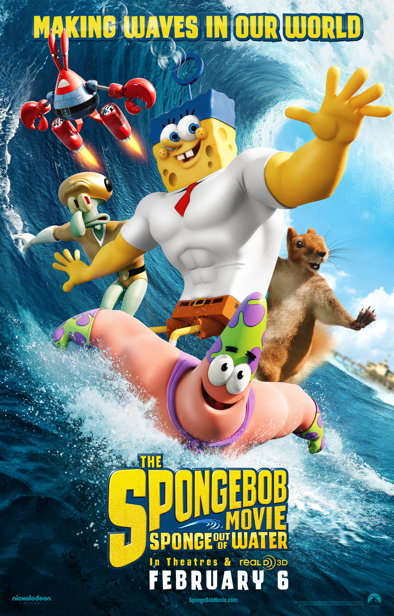 The SpongeBob Movie: Sponge Out of Water [2015]