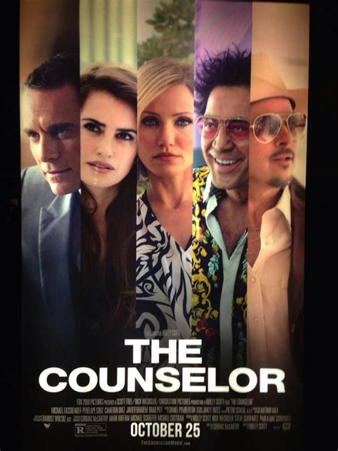 The Single-Minded Movie Blog: The Counselor (2013)
