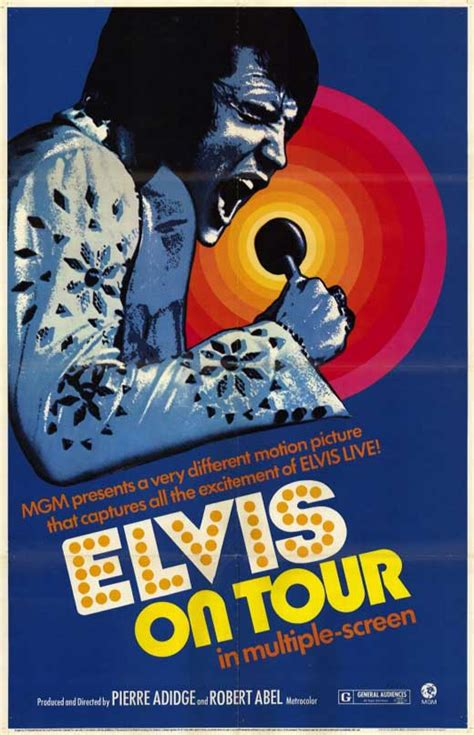 Elvis On Tour Movie Posters From Movie Poster Shop
