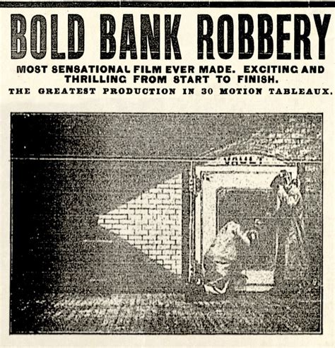The Bold Bank Robbery (1904) A Silent Film Review – Movies ...
