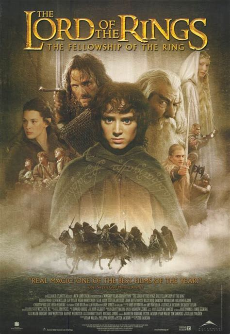Lord of the Rings: The Fellowship of the Ring movie ...