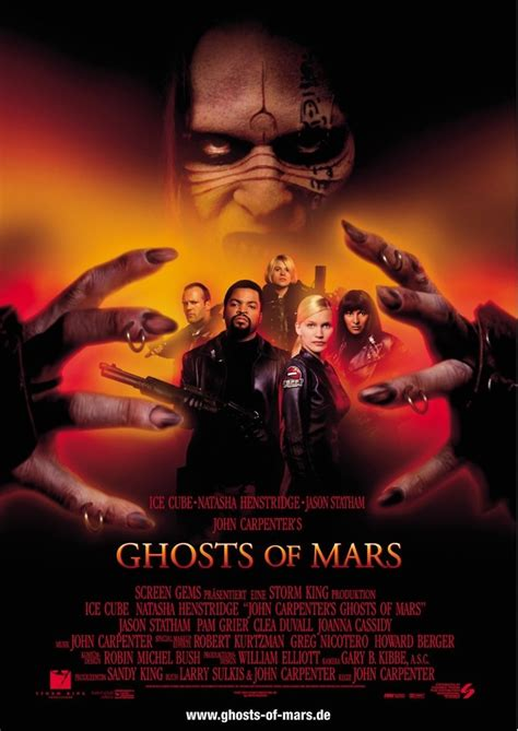 Ghosts of Mars DVD Release Date December 4, 2001