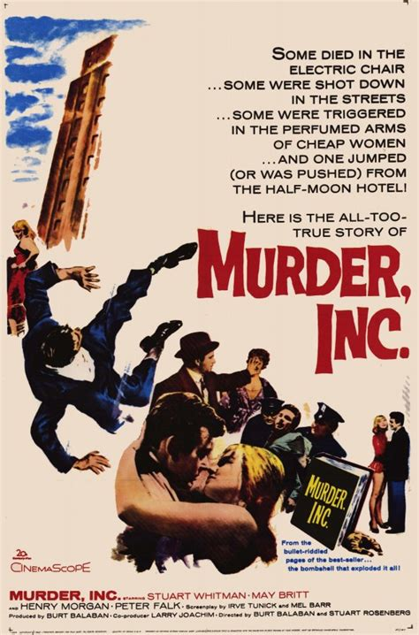 Murder, Inc. Movie Posters From Movie Poster Shop