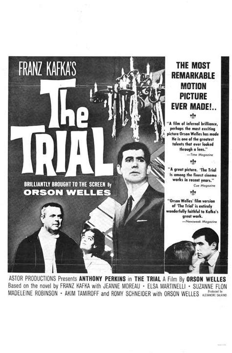 The Trial (1962) - Orson Welles DVD – Elvis DVD Collector ...
