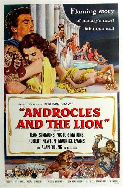 Androcles and the Lion Movie Posters From Movie Poster Shop