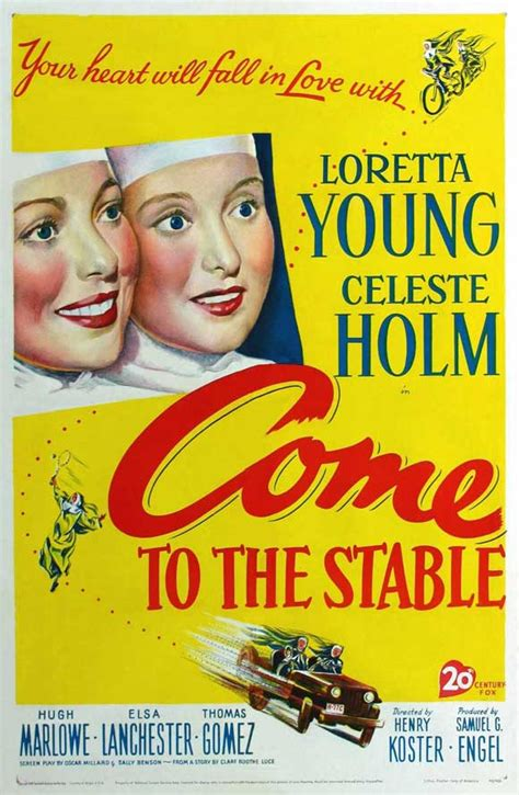 Come to the Stable Movie Posters From Movie Poster Shop