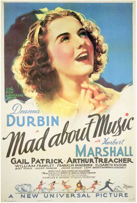 Mad About Music (1938) Movie