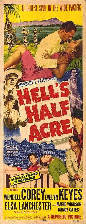 Hell's Half Acre movie posters at movie poster warehouse ...