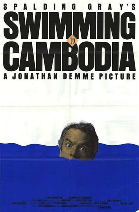 Swimming to Cambodia Movie Review (1987) | Roger Ebert
