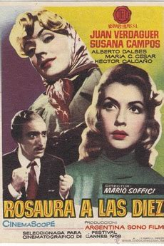 ‎Rosaura at 10 O'Clock (1958) directed by Mario Soffici ...