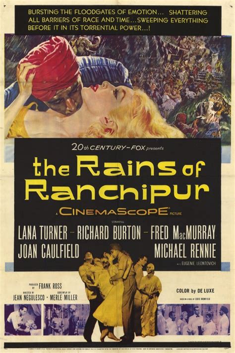 The Rains of Ranchipur Movie Posters From Movie Poster Shop