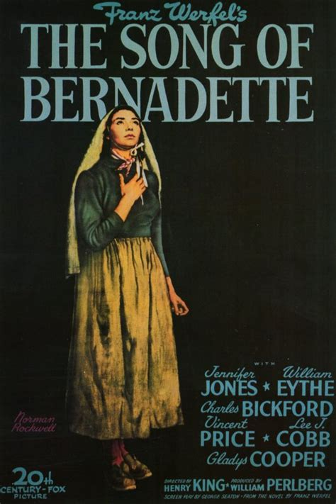 The Song of Bernadette Movie Posters From Movie Poster Shop