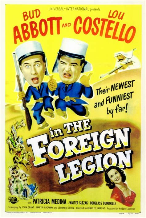 Abbott and Costello in the Foreign Legion Movie Posters ...